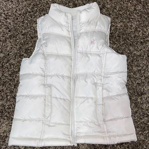 Size small girls puffer vest